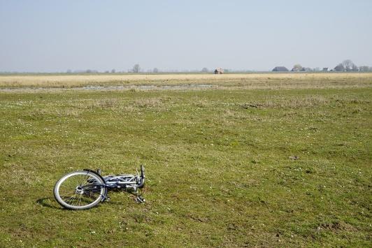 Where was the biker? photo: Su